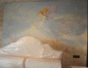 Роспись стен в спальни,фото
