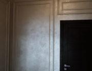 Декоративная краска с лепниной,фото