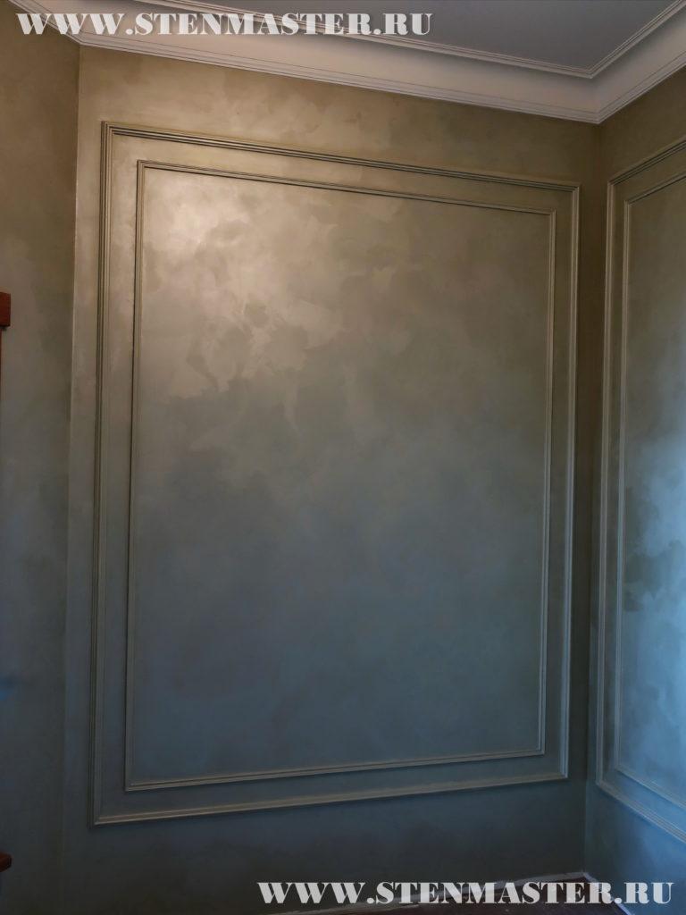 Декоративная краска,окраска лепнины