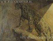"""""""Леопард""""декоративное панно,фото"""