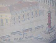 Роспись стен,Василеостровская стрелка,фото