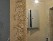 Обрамление зеркала,декоративная штукатурка,фото