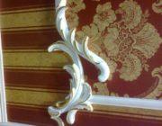 Лепной декор из гипса,позолота,фото