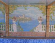 Художественная роспись стен и потолков,фото