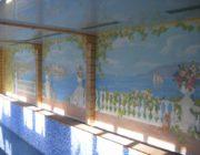 Роспись стен в бассейне,фото