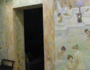 """Роспись стен и потолков """"Античные бани""""фото"""