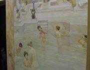 Роспись стен,древнеримские бани,фото