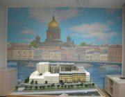 Исаакиевский собор,роспись стен в офисе,фото