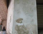 Отделка печи декоративной штукатуркой,фото