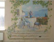 Роспись стен в квартире,фото