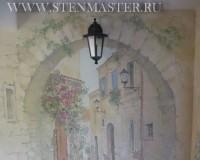Фото,роспись стен,арка