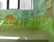 Роспись стен в детских садах,фото