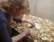 Сусальное золото,позолота,фото