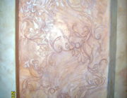 Декоративное панно из акриловой  декоративной штукатурки,фото
