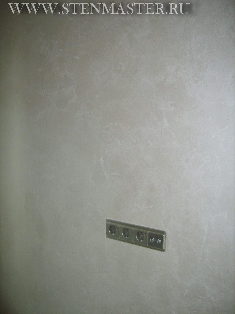 Декоративная краска дамассе,фото в интерьере