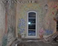 Фото.Художественная роспись стен