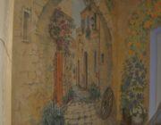 """Роспись стен на лестнице """"Арка""""фото"""