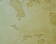 "Фактура ""Карта мира""из декоративной штукатурки ""Травертино""фото"