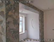 Венецианская штукатурка под серый камень,фото