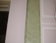 Зелёная венецианская штукатурка,фото