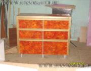 Нанесение венецианской штукатурки на мебель,фото