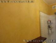 Венецианская штукатурка в ванной комнате,фото