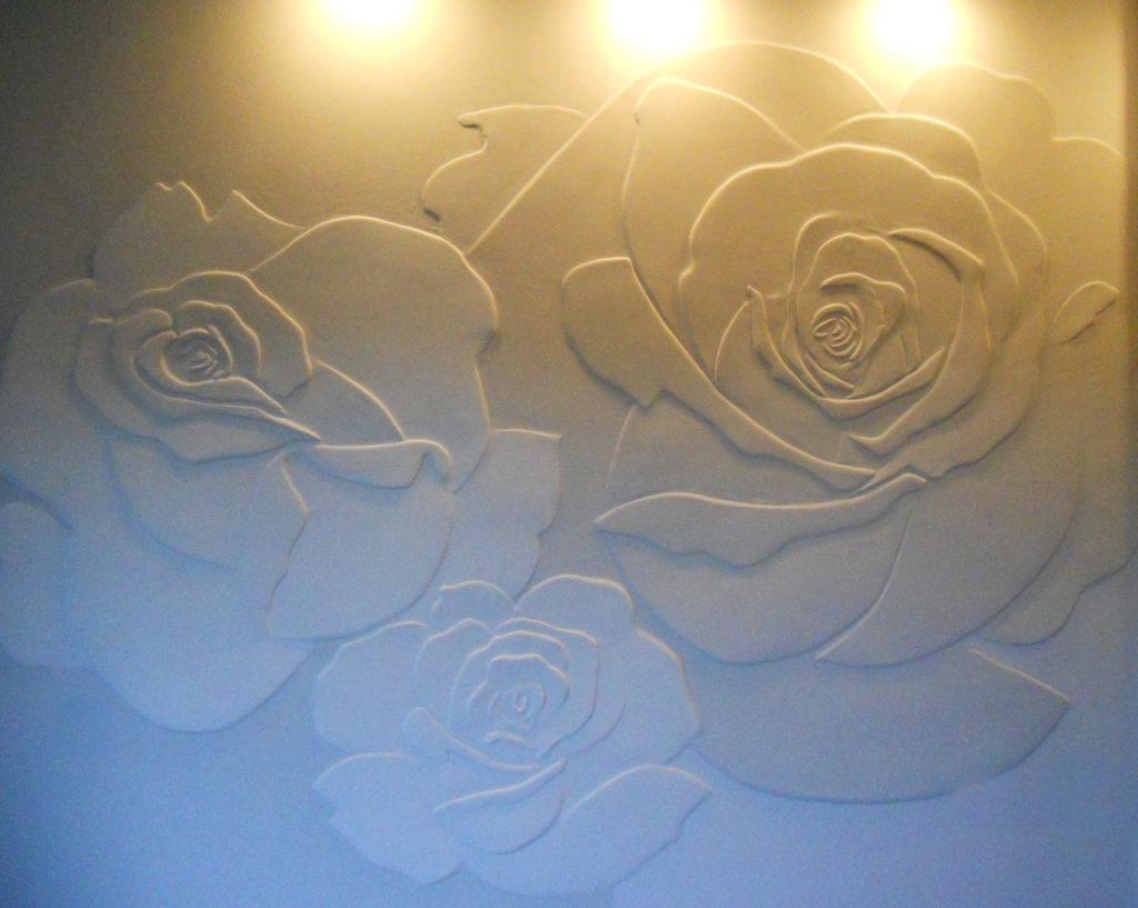 Рельефные панно и коллажи из декоративной штукатурки